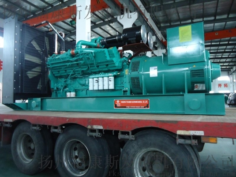 西安1000KW康明斯发电机组价格KTA50-G3康明斯主机厂