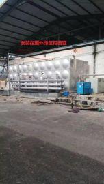 吉盛供印度尼西亚500吨304不锈钢生活水箱及304水箱冲压板