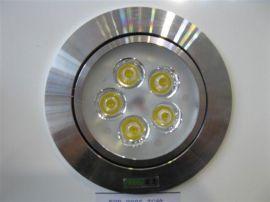 厂家直销LED天花射灯-5*1W LED天花灯 LED射灯