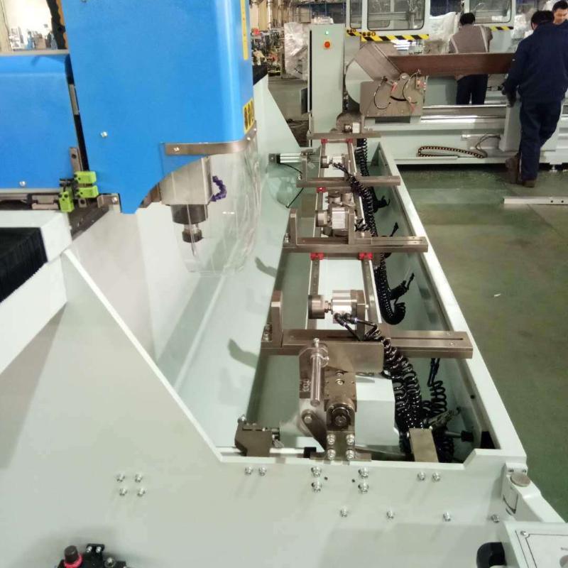 廠家直銷數控鑽銑牀工業鋁型材實驗平臺框架加工設備