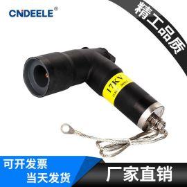 电缆附件200A 肘型避雷器美式电缆插拔头