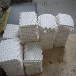 常温粘结马赛克10x10x3-10氧化铝耐磨陶瓷衬片