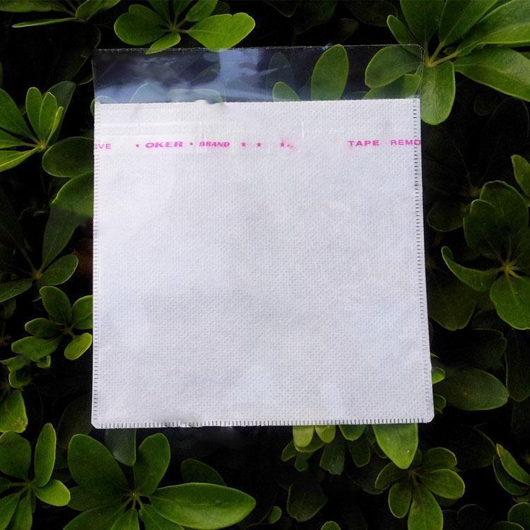 批發價處理 透明優質雙碟光碟袋 CD/DVD袋中間無紡布袋 PP袋 只限一批 後批漲回原價