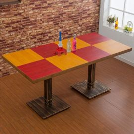 北京众美德餐厅卡座沙发厂家|咖啡厅桌椅|做旧桌子椅子
