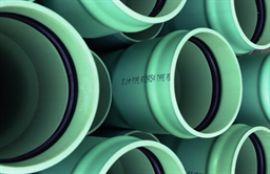 潍坊厂家低压排污排水用PVCUH管材1200mm