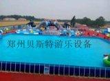 广西云南儿童充气水滑梯超级厉害的设备水乐园