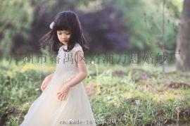 儿童礼服公主裙生日儿童裙儿童表演裙
