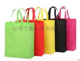 昆明兰枢0广告袋采用80克无纺布来制作