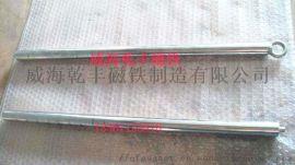 强力磁铁厂家**304不锈钢方形螺丝孔永磁磁力棒