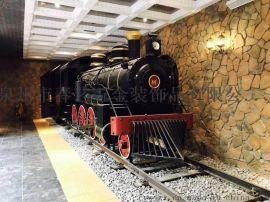 金属工艺品 大型火车模型厂家 大型家居摆件装饰品