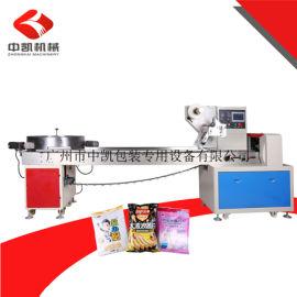 广州中凯膨化食品包装机,薯条包装机、薯片包装机
