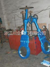 涡轮转动刀闸阀 PZ573H-10C