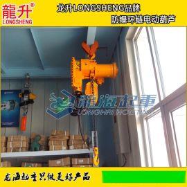 龙升防爆环链电动葫芦,防爆电动葫芦,可定制