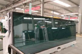 万达广场15mm超白防火钢化玻璃