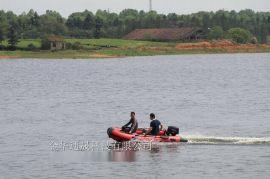 防汛冲锋舟 铝合金底板救生船 充气橡皮艇