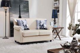 美式乡村沙发客厅单人双人沙发组合地中海田园三人位沙发