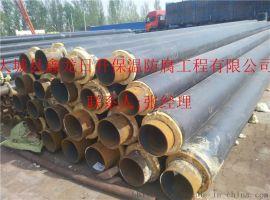 高密度聚乙烯聚氨酯保温管 聚氨酯预制保温管  聚氨酯直埋式预制管DN600