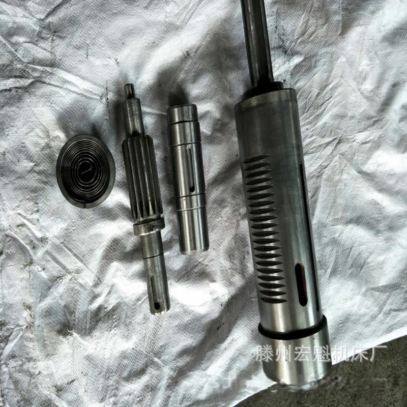 厂家直销机床配件 钻铣床各型号主轴 ZX20钻铣床立铣头主轴套筒