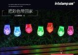 穎朗 太陽能燈串 led綵球燈戶外防水節日裝飾燈小圓球滿天星彩燈閃燈串燈庭院燈