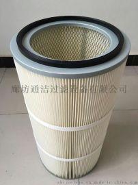 【通洁】焊接烟尘空气净化滤芯350*660对接式除尘滤芯