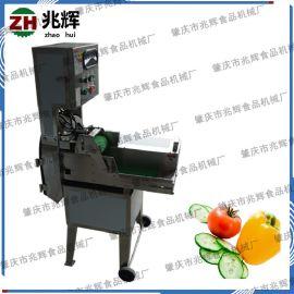 蔬菜专用切菜机器 **进口单头切菜机 大型食品加工厂蔬果切段机