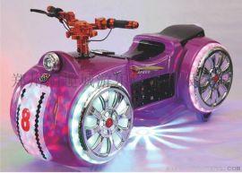 广场**摩托儿童电动游乐设备乐吧车碰碰车厂家