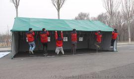 户外施工工程工地养蜂养殖住人抗风防雨帆布棉帐篷