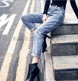 便宜女士牛仔褲休閒褲便宜高腰牛仔褲5-10元以下