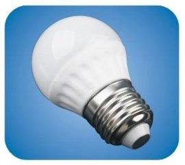 3.5wLED陶瓷球泡灯-乳白罩