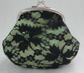 蕾丝银饺零钱包(LX)