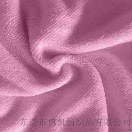 厂家供应全涤毛巾布 服装厨卫用品面料 超细纤维面料