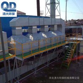 大型机械加工厂废气管护理设备CO催化燃烧设备