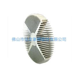 led工矿灯散热器定制,led挤压铝散热器开模
