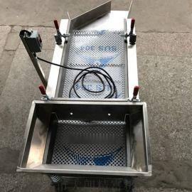 厂家供应订做不锈钢直线型振动筛料机
