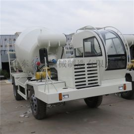 混凝土搅拌运输车 水泥沙浆搅拌车 小型混凝土罐车