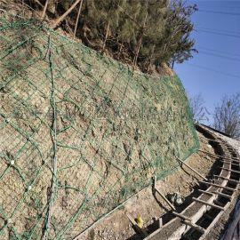 山体柔性防护网-柔性钢丝绳网-钢丝绳防护网厂家