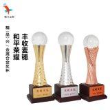 合金水晶奖杯,晚会颁奖,员工奖励定做奖杯