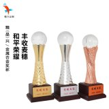 合金水晶獎盃,晚會頒獎,員工獎勵定做獎盃