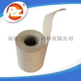 厂家供应油浸式变压器线圈菱格点胶绝缘纸DDP