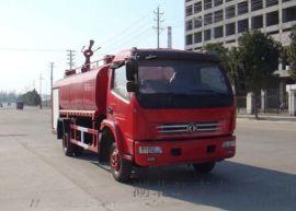 湖北江南东风7吨消防洒水车