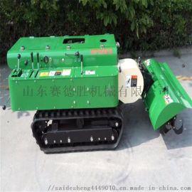 小型农业耕地机 多功能履带开沟施肥机