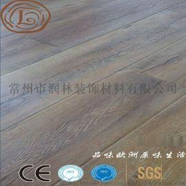 高密度同步对花家用木地板