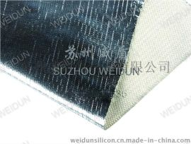 铝箔玻纤焊接防火布,方格铝箔布FW600生产厂家