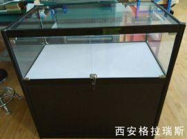 西安高新区钛合金精品展示柜 手机展示柜批发定做