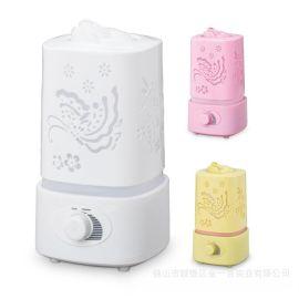 空气加湿器家用迷你办公室空调房LED香薰机增湿器  OEM