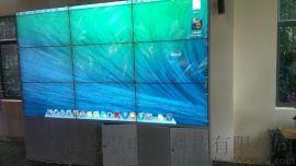 46寸液晶拼接屏超窄拼缝厂家直销壁挂式落地式均可定制大屏播放超清分辨率整屏无延迟播放
