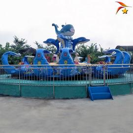 供应公园大型游乐设备激战鲨鱼岛24座豪华配置