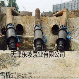 雪橇轴流泵 天津雪橇式潜水轴流泵