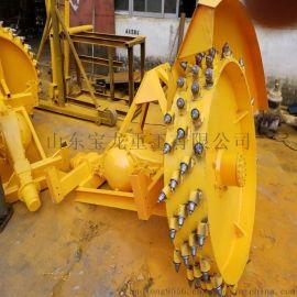 水泥开沟机电缆挖沟机大型盘式开沟机
