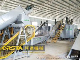 东莞市柯达机械厂供pet瓶破碎清洗线